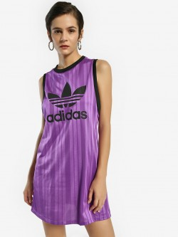 Adidas Originals Trefoil Print Tank Top