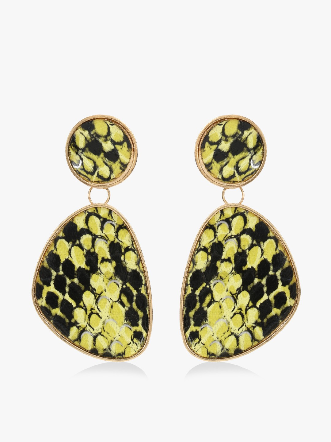 KOOVS Multi Snake Print Asymmetric Earrings 1