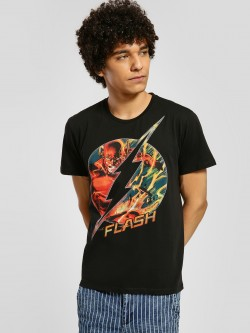 Free Authority DC Comics Flash Print T-Shirt