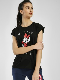 Free Authority Minnie Mouse Placement Print T-Shirt