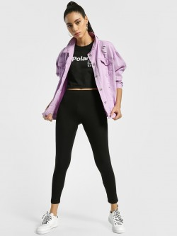 EmmaCloth Basic Cropped Leggings