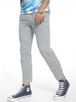 Spring Break Vertical Stripe Drawcord Trousers
