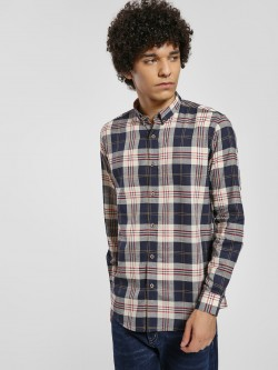 Green Hill Multi-Check Long Sleeve Shirt