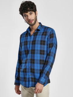 Green Hill Tartan Check Casual Shirt