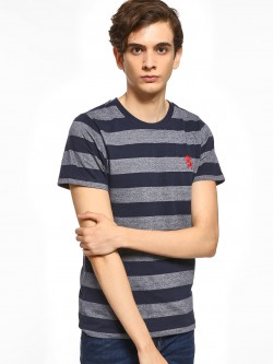 Giordano Horizontal Stripe T-Shirt