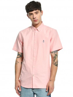 Giordano Basic Oxford Short Sleeve Shirt