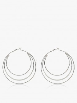Zero Kaata Multi-Hoop Earrings