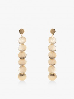 Zero Kaata Symmetric Circle Statement Earrings