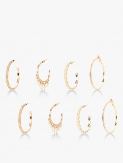 Style Fiesta Multi Pack Hoops (Set Of 3)