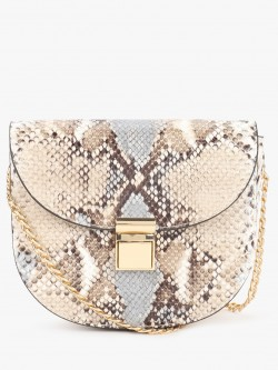 New Look Snakeskin Sling Bag