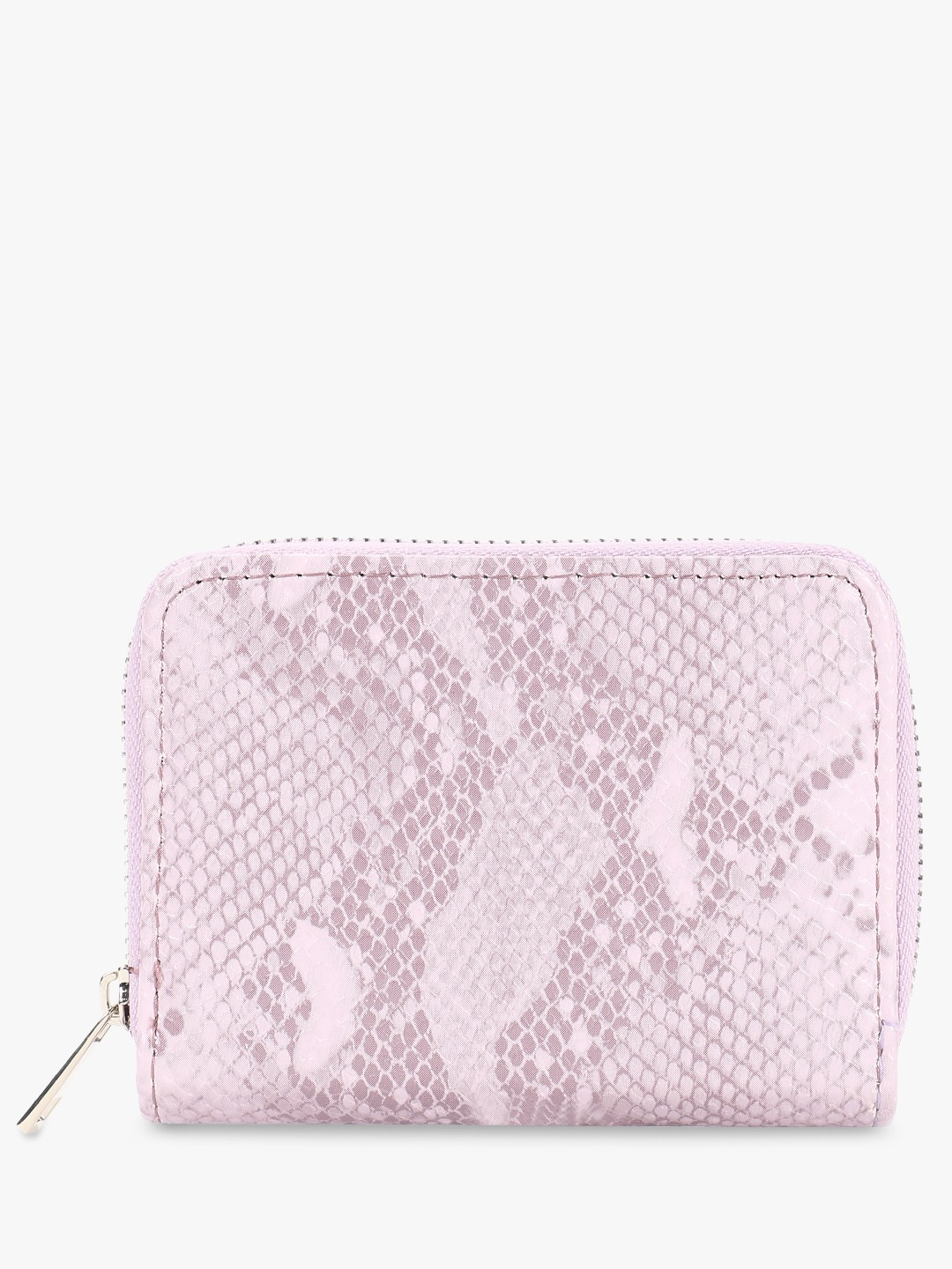 New Look Lilac Snakeskin Texture Cardholder 1