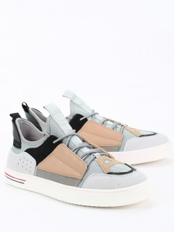 KOOVS Multi Panel Low Top Shoes