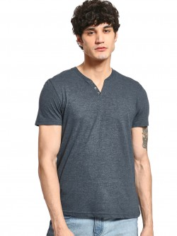 Celio Henley Neck Slim T-Shirt
