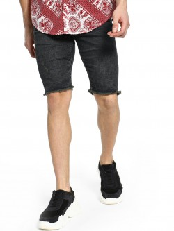 Celio Stone Wash Skinny Denim Shorts