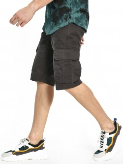 Celio Knee-Length Cargo Pocket Shorts