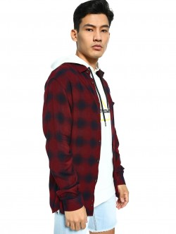 Celio Yarn Dyed Check Shirt
