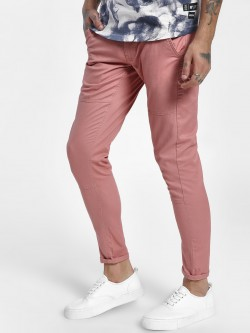 Kultprit Panelled Skinny Trousers