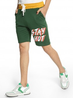 Fighting Fame Stay Hot Print Shorts