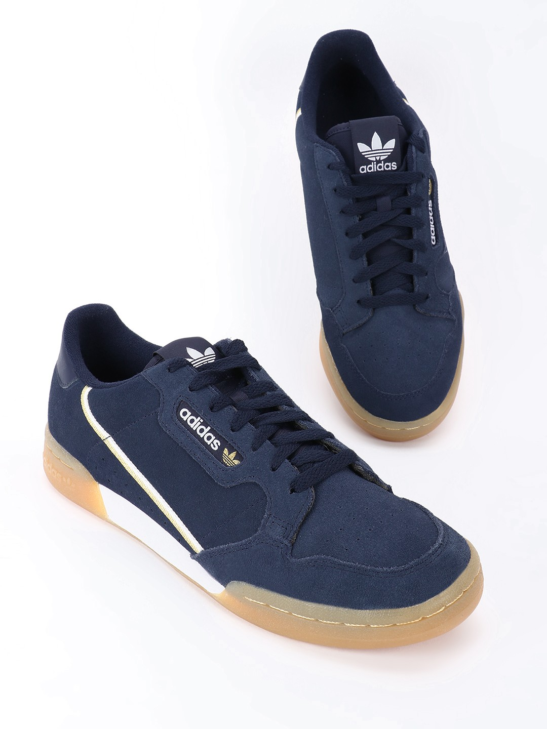 Buy Adidas Originals Blue Continental 80 Shoes for Men