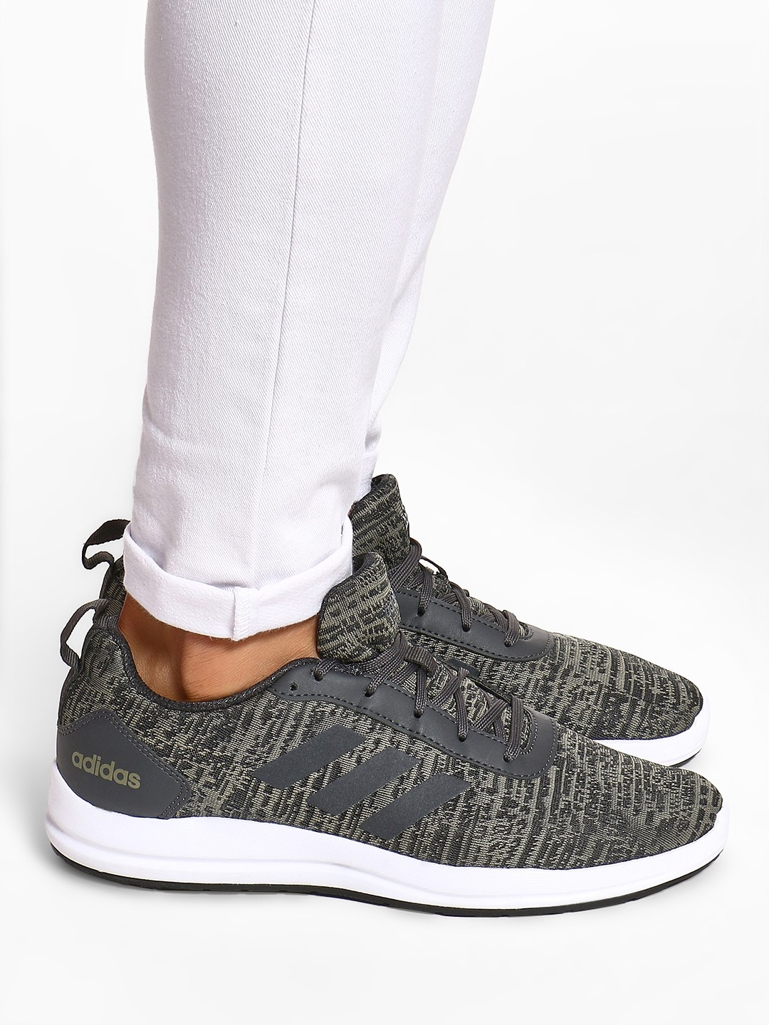 Adidas Grey Videll Shoes 1
