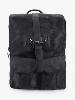 KOOVS Front Buckle Backpack