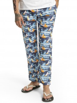 Urban Hug Ship Island Print Lounge Pants