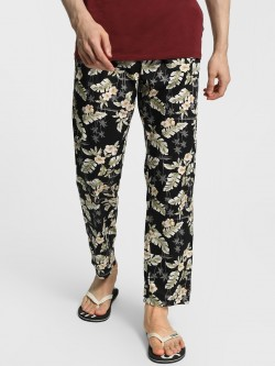Urban Hug Tropical Floral Print Lounge Pants