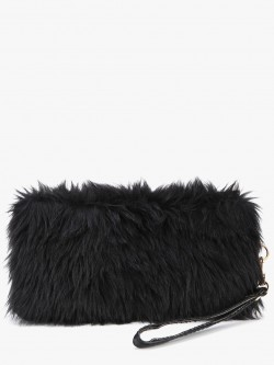 EmmaCloth Fur Clutch