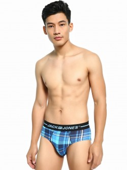 Jack & Jones Multi-Check Logo Briefs