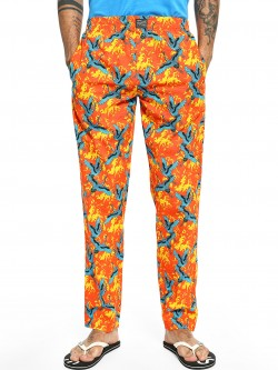 Jack & Jones Oriental Bird Print Lounge Pants