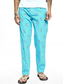 Jack & Jones Looks Hand Print Lounge Pants
