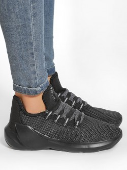 Peak Knitted Chunky Sole Basketball Shoes