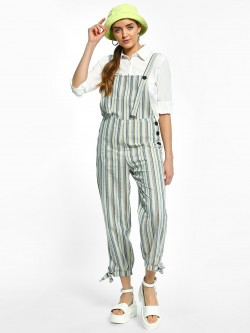 EmmaCloth Multi Stripe Dungaree