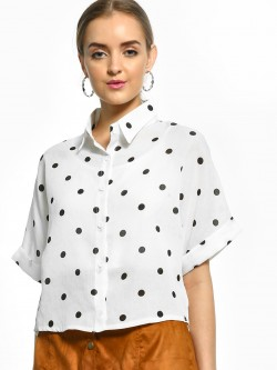 EmmaCloth Polka Dot Print Shirt