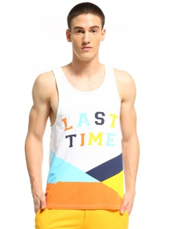 Adamo London Last Time Colour Block Vest