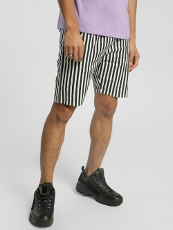 KOOVS Vertical Stripe Slim Shorts