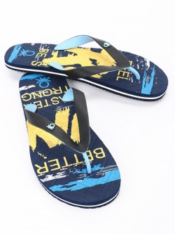 United Colors of Benetton All Over Print Flip Flops