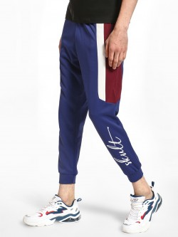 SKULT By Shahid Kapoor Contrast Side Panel Interlock Joggers