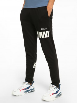 SKULT By Shahid Kapoor Racer Track Print Joggers
