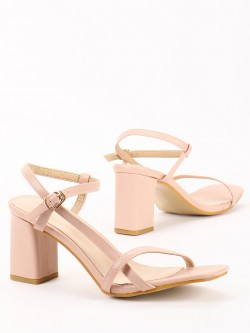 Sole Story Asymmetric Strappy Heeled Sandals