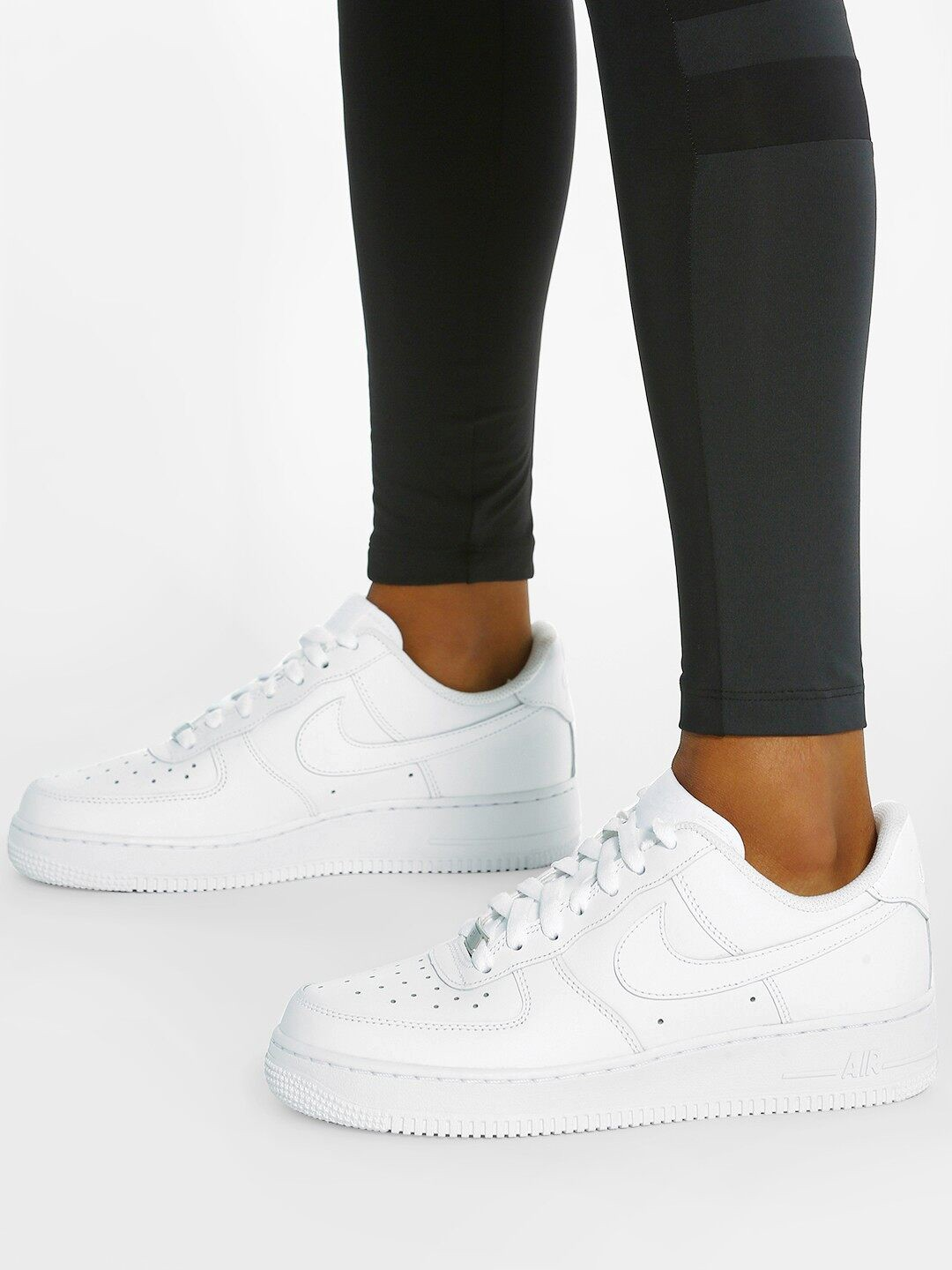 Nike White Air Force 1 '07 Shoes 1
