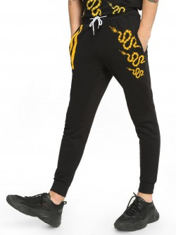 Fighting Fame Snake Placement Print Joggers