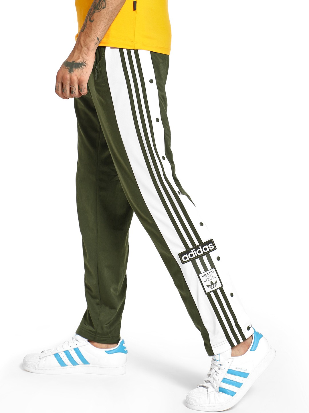 Adidas Originals Green OG Adibreak Track Pants 1