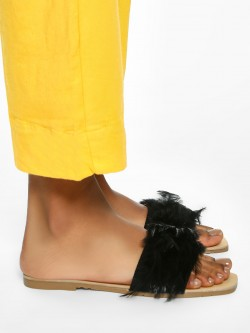 Sole Story Feather Strap Flat Sandals