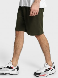 Brave Soul Fleece Knee-Length Drawcord Shorts