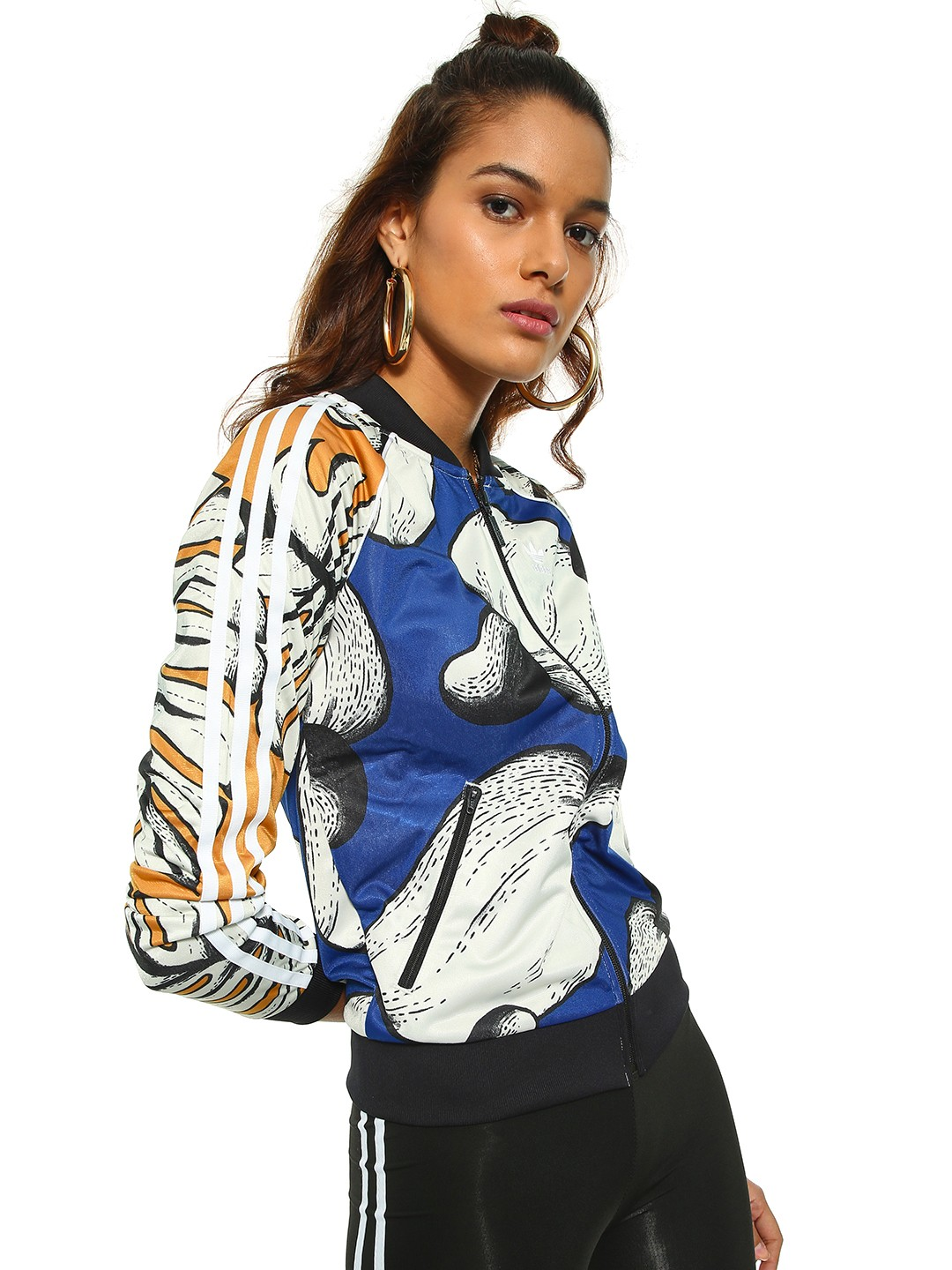 Adidas Originals Multi Fruit & Palm Print Track Jacket 1