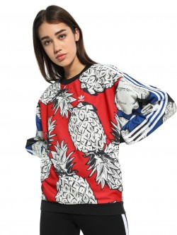 Adidas Originals Pineapple Print Sweatshirt