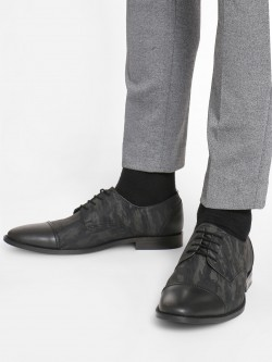 Griffin Camo Panel Oxford Shoes