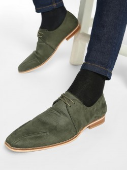 Griffin Suede Derby Formal Shoes