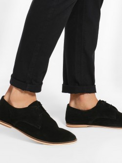 Griffin Basic Suede Derby Shoes